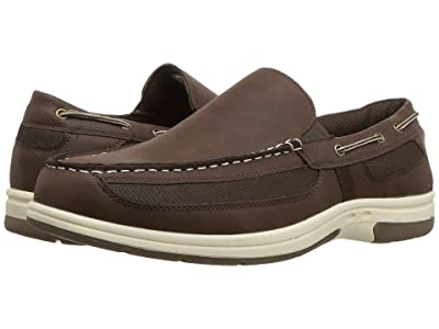 Deer Stags Bowen Loafer (Dark Brown Simulated Oiled Leather) Men