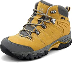 Clorts Women`s Pioneer Hiking Boots Waterproof Suede Leather Lightweight Hiking Shoes