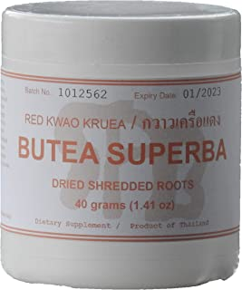 Tongkatali.org's Butea Superba Shredded Roots, 40 Grams (1.41 oz)