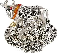 kamadhenu in silver