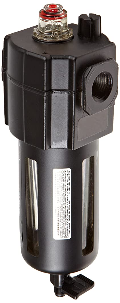 Dixon L74M-4 Norgren Series Micro-Fog Lubricator with Transparent Bowl and Guard, 1/2
