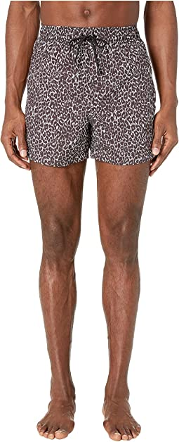 Animal Print Swimtrunks