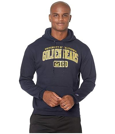 Champion College Cal Bears Powerblend(r) Fleece Hoodie (Navy) Men