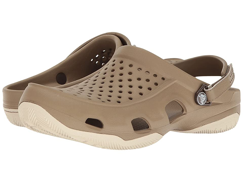 Crocs Swiftwater Deck Clog (Khaki/Stucco) Men