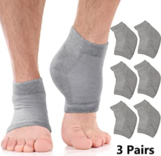 mens heel socks