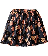 mini rodini - Flowers Woven Skirt (Toddler/Little Kids/Big Kids)