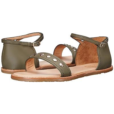 Hunter Original Leather Studded Sandal (Sage) Women