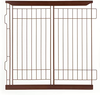 Richell Expandable Pet Crate Divider, Medium, Dark Brown