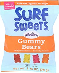 Surf Sweets, Candy Gummy Bear, 2.75 Ounce