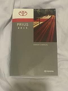 2015 Toyota Prius Hybrid Owners Manual
