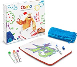 Osmo - Creative Set - 3 Hands-On Learning Games - Ages 5-10 - Creative Drawing & Problem Solving/Early Physics - STEM - For iPad and Fire Tablet (Osmo Base Required - Amazon Exclusive)