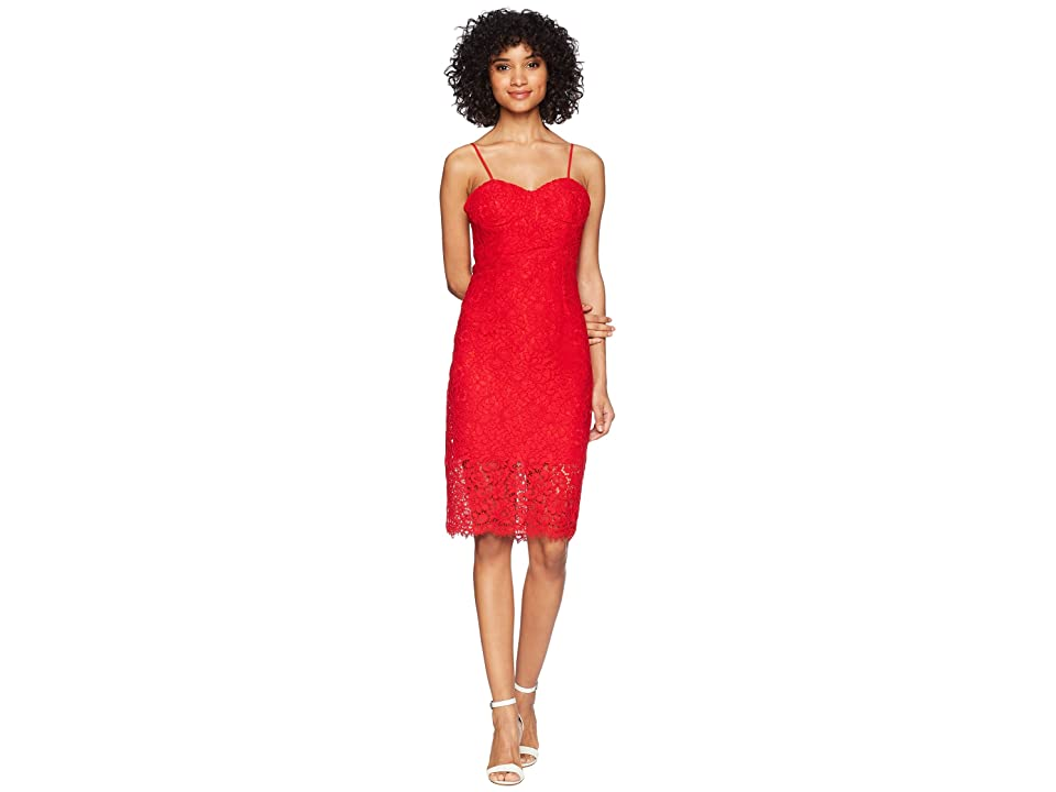 Bardot Pierre Lace Dress (Lava) Women