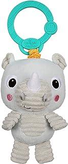 Bright Starts Take 'n Shake On-The-Go Take-Along Toy - Rhino, Newborn +