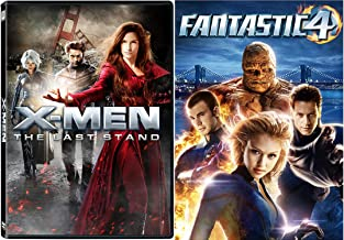 Fox Marvel Universe 2-Movie Bundle - X-Men the Last Stand & Fantastic Four (2005 Full Screen Edition) 2-DVD Collection