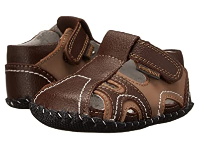 pediped Brody Originals (Infant) (Brown/Tan) Boy