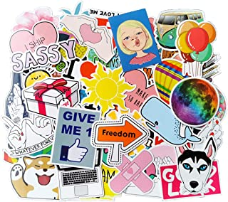Cute VSCO Stickers 100pcs for Water Bottle, Laptop, Luggage, Hydro Flask Decorations, Kids, Teens, Girls Party Gifts