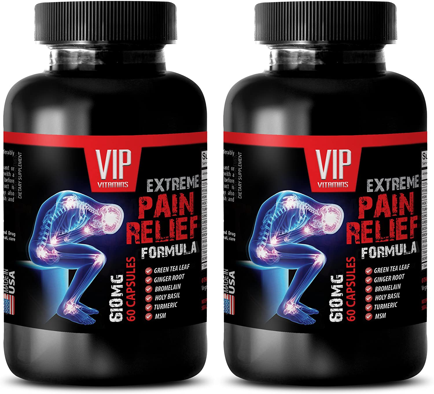 In a Direct store popularity Pain Relief for Adults - Extreme Formula 610 mg Gr