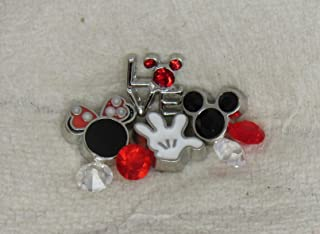 Mickey Mouse Love Minnie Floating Charm Package