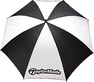 TaylorMade TM Manual Open Single Canopy Umbrella, 60-Inch, White