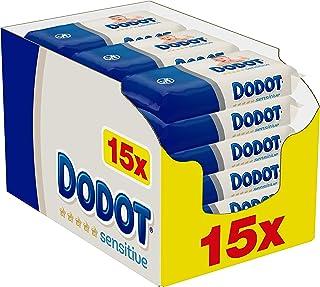 comprar comparacion Dodot Sensitive Toallitas para Bebé 15 Paquetes de 54 Unidades, 810 Toallitas