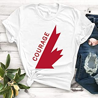tragically hip courage t shirt