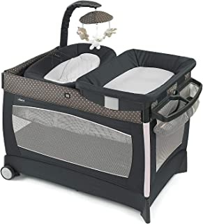 c4571bb39 Chicco Cuna Corral Lullaby Baby Lilla, color Gris