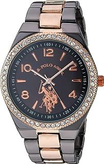 Women's Analog Quartz Watch with Alloy Strap, Two Tone,...