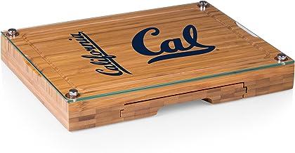 NCAA California Golden Bears Picnic Time Concerto Cheese Board Serving Set (5 Piece)