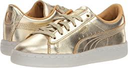 Puma Kids Suede 50th Gold (Little Kid)