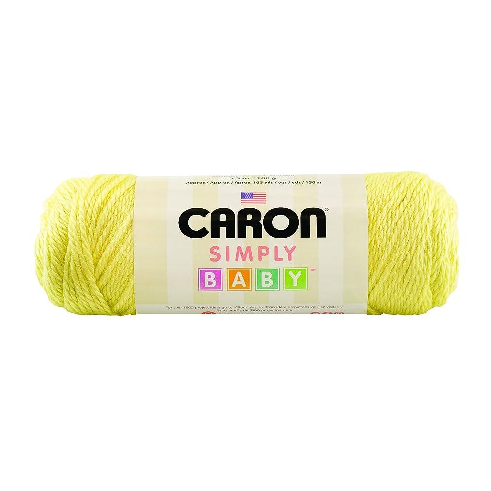 Caron Simply Baby Solid Yarn, 3.5 Ounce, My Sunshine, Single Ball