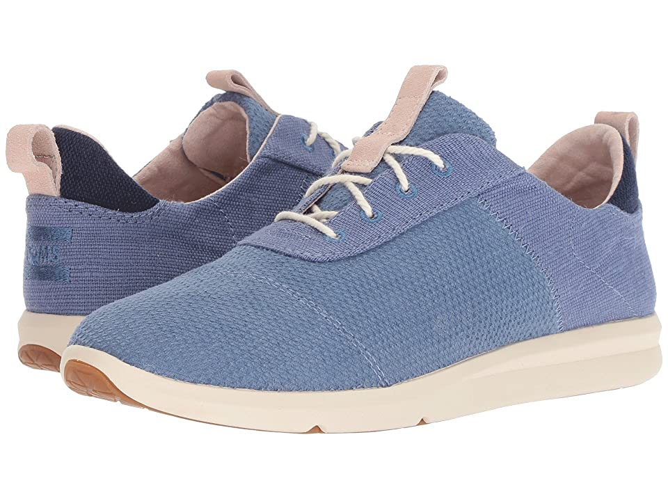 TOMS Cabrillo (Infinity Blue Textured Velour Mix) Women