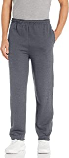 Men's Fleece Elastic Bottom Pocketed Pant