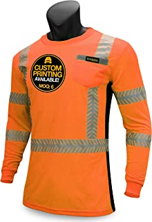 hi vis long sleeve work shirts