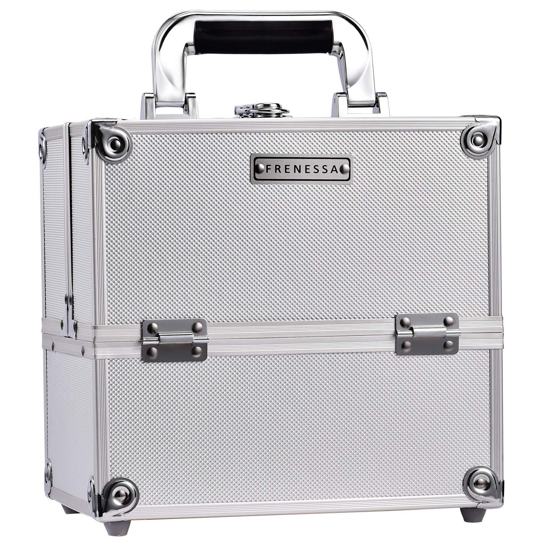 Frenessa Professional Store Max 47% OFF Makeup Train Case Aluminum Box 4-Ti