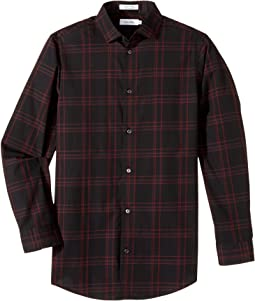 fa719f120563 Long Sleeve Echo Windowpane Shirt (Big Kids). Like 8. Calvin Klein Kids. Long  Sleeve Echo ...