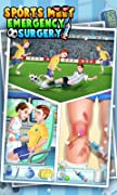The players are injured in the sports meet and they are suffering! Please give them emergency surgeries immediately! There are 2 players who need surgeries: 1. Football Player The football player's leg was injured in the football match. Please call 9...