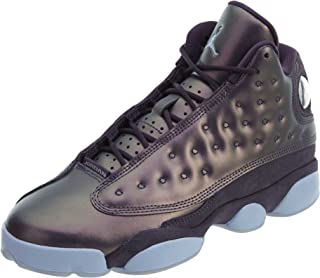 Nike Women's Air 13 Retro Prim HC Dark Raisin/Hydrogen Blue Basketball Shoe 10.5 Women US