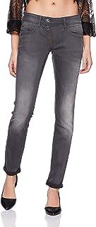 G-Star RAW Women's Lynn Zip Midrise Skinny Slander Grey Super Stretch Jean - Blue