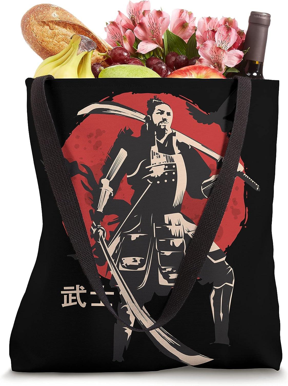 Samurai - Old Japanese culture - Men-yoroi - Samurai Ninja Tote Bag