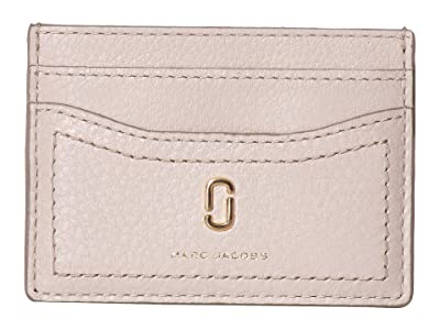Marc Jacobs Card Case (Cream) Wallet Handbags