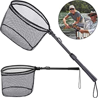 ODDSPRO Foldable Fishing Net Fish Landing Net,...