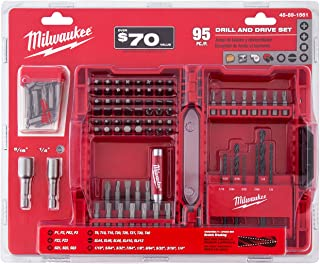 Milwaukee 48-89-1561 Drill and Drive Set 95 Pieces