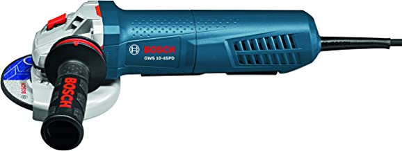 Bosch GWS10-45PD Angle Grinder with No-Lock-On Paddle Switch, 4-1/2