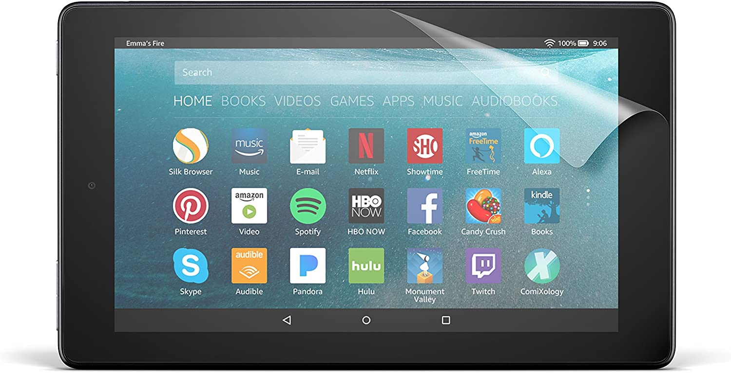 Amazon Com Nupro Anti Glare Screen Protector For Amazon Fire 7 Tablet 7th Generation 2019 2017 Release Kindle Store