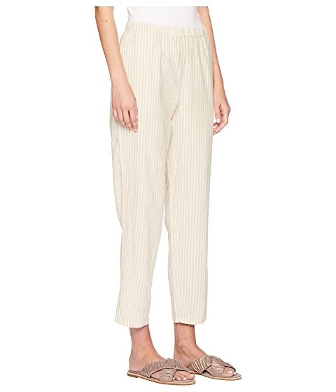 Eileen Fisher tobillo de Natural Pantalones ECqzOz