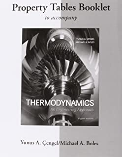Best thermodynamics property tables booklet Reviews