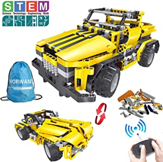 2-in-1 Remote Control Car Building Set | STEM Learning Kits for Boys and Girls 6-12 | Best Engineering Toy Gift for Kids Ages 7,8,9,14 Year Old (426pcs)