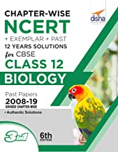 Chapter-wise NCERT + Exemplar + Past 12 Years Solutions for CBSE Class 12 Biology 6th Edition