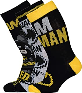LEGO MW-Socken Im Dreier Pack Batman Calcetines para Niños