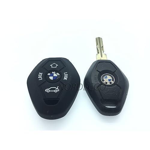 Alta calidad Silicona Key Fob remoto 3/4 botón fob Protector caso BMW 3 E35